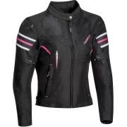 Ixon Ilana Ladies Motorcycle Textile Jacket Black Pink S