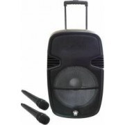 Boxa Portabila Orion OBTS-1715 80W Bluetooth USB 2 Microfoane Wireless Neagra