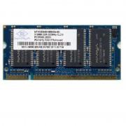 512Mo RAM PC Portable SODIMM Nanya NT512D64SH8B0GN-6K DDR1 DDR1 PC-2700 333MHz