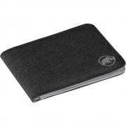 Mammut Sportovní Peněženka Mammut Flap Wallet Mélange Black