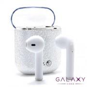 Slusalice I7S BT za Iphone 7/8/X sa punjacem srebrne