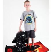 set chlapecký ( tričko,kraťasy) TV MANIA - Angry Birds / Star Wars - Grey - SWAB 338