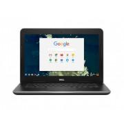 "Laptop DELL, Chromebook 11 3180, Intel Celeron N3060, 1.6 GHz, HDD: 32 GB, RAM: 4 GB, video: Intel HD Graphics, 11.6"" HD"