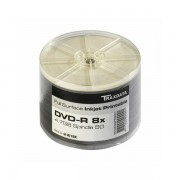 TRAXDATA OPTIČKI MEDIJ DVD-R 8X SPINDLE 50 WHITE FULL PRINTABLE HQ 907OEDRPSN001, 907SP50NO8CPL