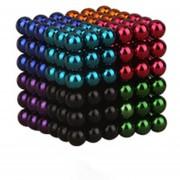 EH Imán Magic Bolas 216pcs Juego de Puzzle magnético 3mm multicolor