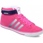 ADIDAS NEO DAILY TWIST MID W Sneakers For Women(Pink, Purple, White)