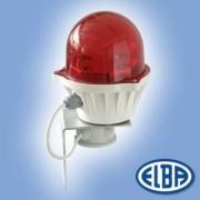 Akadályvilágító lámpa LB LED 4W 230V polikarbonát IP66 Elba