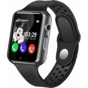 Ceas GPS Copii iUni Kid98 Telefon incorporat Touchscreen 1.54 inch Bluetooth Notificari Camera Negru