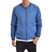 Denim Is Dead DiD Suede Bomber Blue S