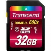 Transcend Karta SDHC, 32 GB, Transcend Ultimate TS32GSDHC10U1, Class 10, UHS-I