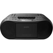 SONY Boombox draagbare radio CD/cassette Zwart (CFDS70B.CED)