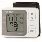 Omron HEM-6131 Blood Pressure Monitor Wrist Type with 5 year extended warranty