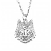 ATLITW STUDIO Alltheluckintheworld Kette Souvenir Necklace Wolf Silber Damen