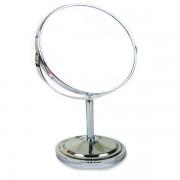Oglinda cosmetica cu picior din inox 15cm