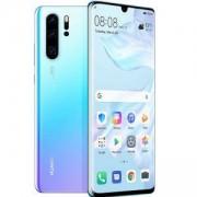 Мобилен телефон, Huawei P30 Breathing Crystal, ELE-L29 6.1 инча, FHD 2340 x 1080, Kirin 980 CPU, Octa-core. 6901443284597