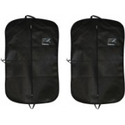 PRAHAN INTERNATIONAL Men's Coat Blazar Cover Bag Suit cover Pack of2 PIS-C2B044(Black)