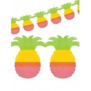 Grinalda ananás festa havaiana
