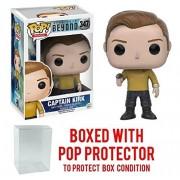 Funko POP TV: Star Trek Beyond - Captain Kirk Duty Uniform Vinyl Figure (Bundled with Pop BOX PROTECTOR CASE)