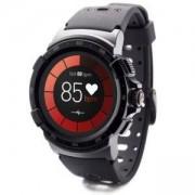 Смарт часовник MyKronoz ZeSport 2, Тъч екран, GPS, Черен, KRON-ZESPORT2-BLACK