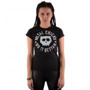 hardcore póló női - Skull - METAL CHICKS DO IT BETTER - MCDIB012