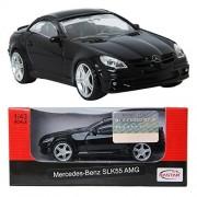 RASTAR Mercedes-Benz SLK55 AMG / BLACK / Toy / DIE-CAST Toy Model cars