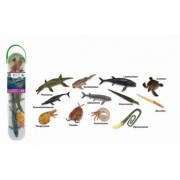 Set figurine Mini animale preistorice marine Collecta, multicolor