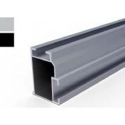 VS+ szerelősín 50 x 37 x 3200 mm (FEKETE)