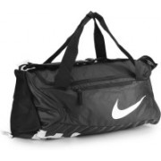Nike Gym Bag(White, Black)