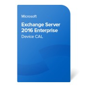 Microsoft Exchange Server 2016 Enterprise Device CAL, PGI-00683 elektronikus tanúsítvány