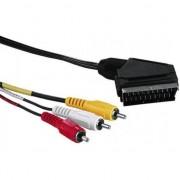 Accesoriu IT noname RCA (RCA) SCART x3, 5, negru