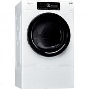 Uscator de rufe Whirlpool Supreme HSCX 10444, 10 kg, 6th Sense, Cu pompa de caldura, Display digital, Clasa A++, Alb , necesita Piedestal H8003437475092