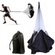 Parachute run - Fallskärm för löpning