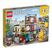 Lego Creator - Stadthaus mit Zoohandlung & Café