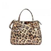 Guess Handtasche Leanne leopard