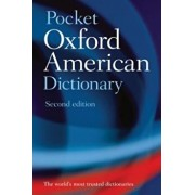 Pocket Oxford American Dictionary, Paperback/Oxford University Press