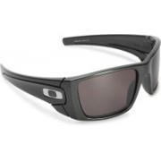 Oakley FUEL CELL Rectangular Sunglass(Silver)