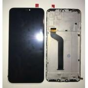 Display LCD e touch com frame para Xiaomi Mi A2 Lite ou Redmi 6 Pro preto