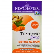 New Chapter Turmeric Force™ Detox Action -- 60 db