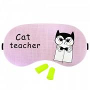 Masca Dormit 'Cat Teacher' si Antifoane Interne Urechi