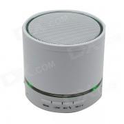 S08U portatil 3W Bluetooth 3.0 altavoz estereo con microfono? 3.5mm? FM - blanco