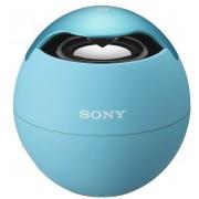 CAIXA DE SOM PORTÁTIL AZUL SONY Bluetooth e MP3