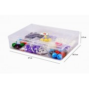 Chemistry Teachers / Students Organic - Inorganic Molecular Model Kit with Extra Lone Pair and Pie Bond & 220 Total Pieces