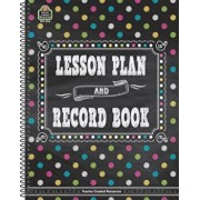 Chalkboard Brights Lesson Plan and Record Book, Paperback/Teacher Created Resources