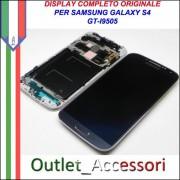 Display LCD Touch Samsung Galaxy S4 I9505 I9515 Nero Schermo GT LTE Flat Black Mist SUPER AMOLED HD