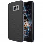 Louiwill Estuche Protector De Doble Capa Para Samsung Galaxy S7 Edge, 2 En 1 Protección Interna Suave Y Cubierta Reforzada A Prueba De Golpes Para El Borde Del Samsung Galaxy S7 Edge - Azul
