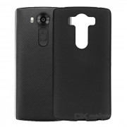 Alta calidad caso TPU de proteccion para LG V10 - negro