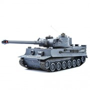 GizmoVine Rc Fighting Battle Tank Germany Tiger 1: 28 Sclae 40Mhz Remote Control Battling Tanks Toys for Kids, Boys (T103 Navy Blue)
