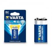 Varta High energy 9 V batterij