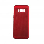 Husa Slim Plastic perforat Samsung S8 Rosu
