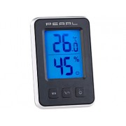 Digitales Thermometer/Hygrometer mit grossem, beleuchtetem LCD-Display | Thermometer